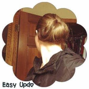easy updo