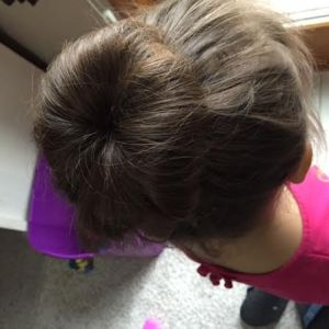 sock bun side